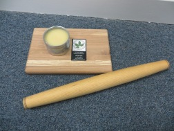 Handcrafted Rolling Pin & Cutting Board