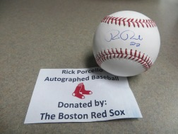 Autographed Red Sox Baseball