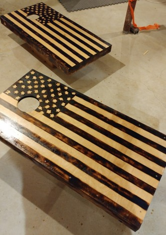Handcrafted Cornhole Game