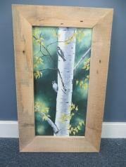 Oil Painting w/ Handmade Frame