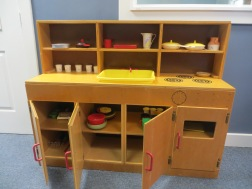 Wooden Play Kitchen & Accessories