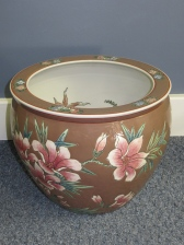 Antique Asian Goldfish Bowl