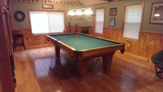 Professional 9ft., 3 Piece, Slate Table