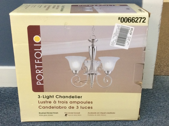 3 Light Chandelier