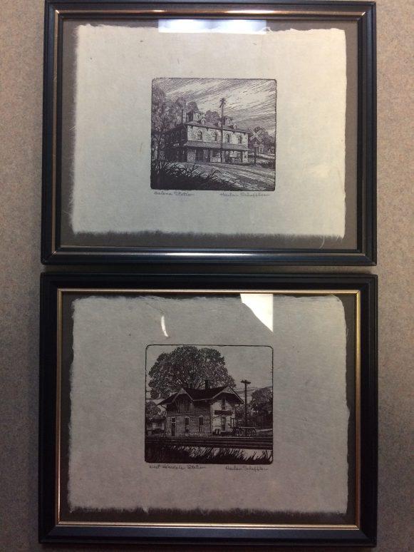 Harlan Scheffler Signed Woodcut Prints