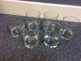 Republican Party Glass Set
