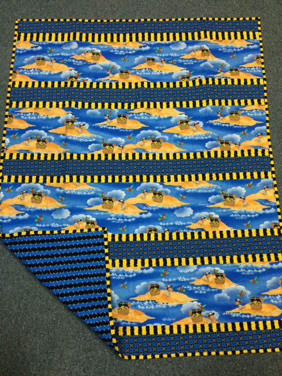 Handmade Little Boy's Quilt