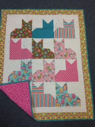 Handmade Little Girl's Quilt