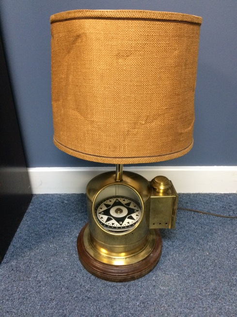 Vintage Nautical Lamp