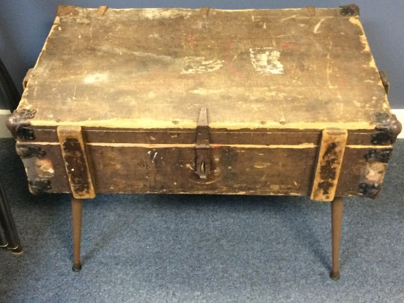 Antique Trunk Coffee Table