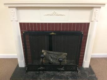 Vintage Decorative Fireplace