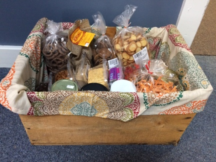 Cornerstone Market Sampler Basket