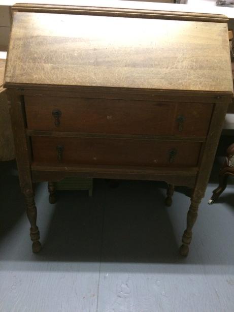 Antique Fold Out Desk
