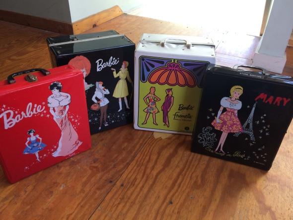 Vintage Barbie Cases