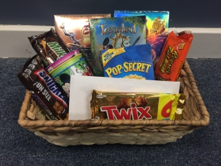 Disney Movie Night Basket!